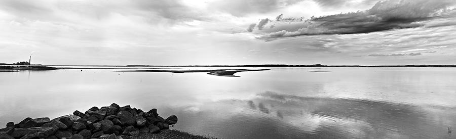 Feggesund landsskabsbillede af Feggesund på Nordmors af lebaf